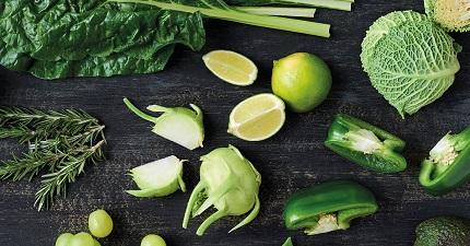 Eet je huid mooi met groene groentes!